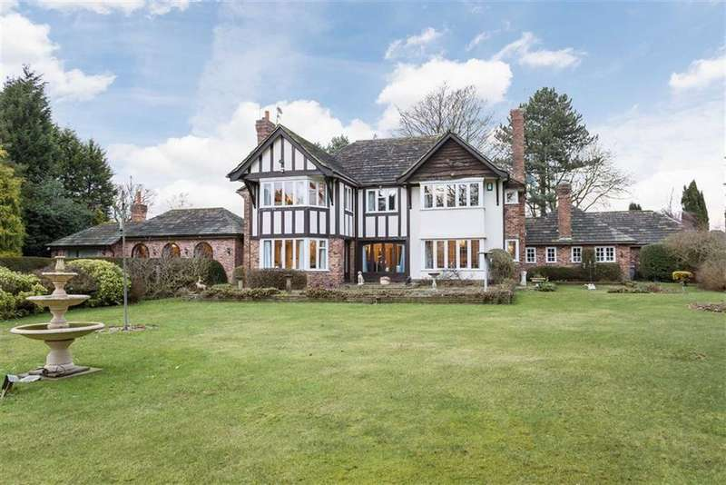 4 Bedrooms Detached House for sale in Peover Lane, Chelford