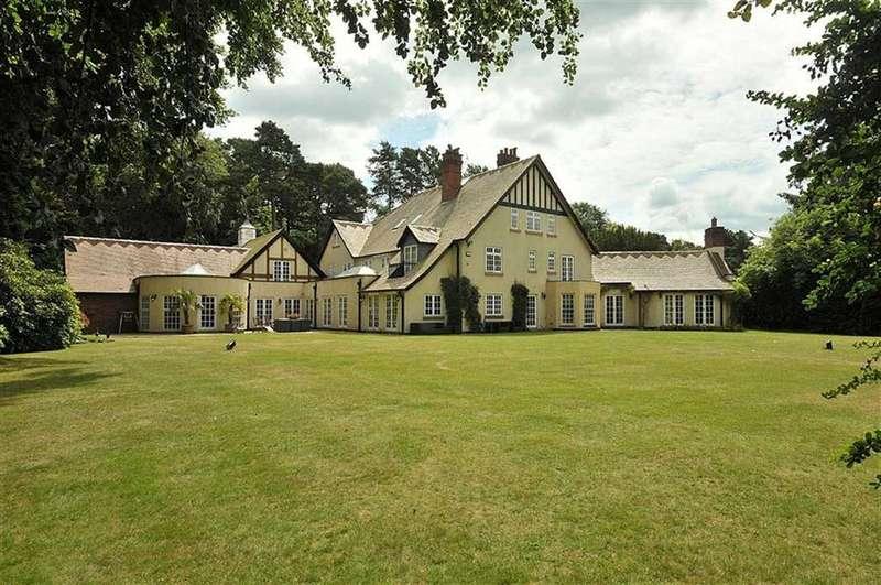 7 Bedrooms Detached House for sale in Woodbrook Road, Alderley Edge