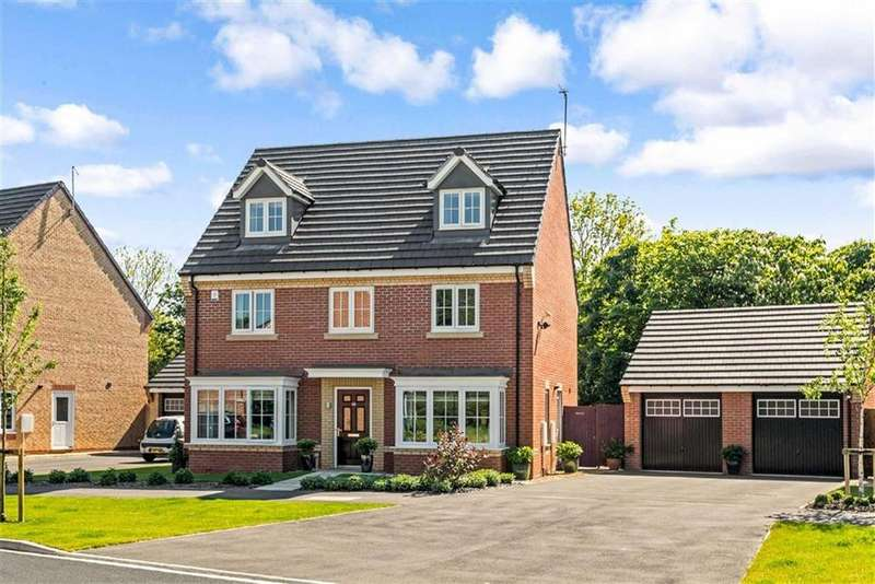 5 Bedrooms Detached House for sale in Rowan Close, Harrogate, North Yorkshire