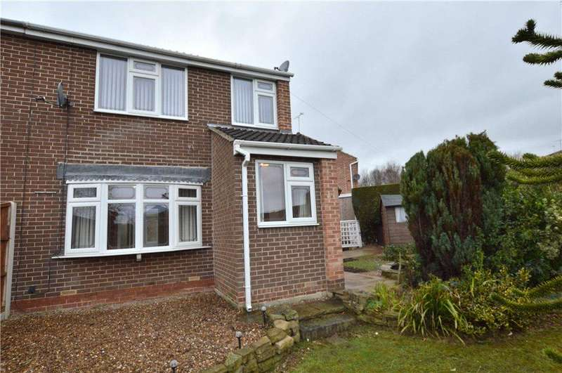 3 Bedrooms Semi Detached House for sale in Manor Crescent, Walton, Wakefield, West Yorkshire