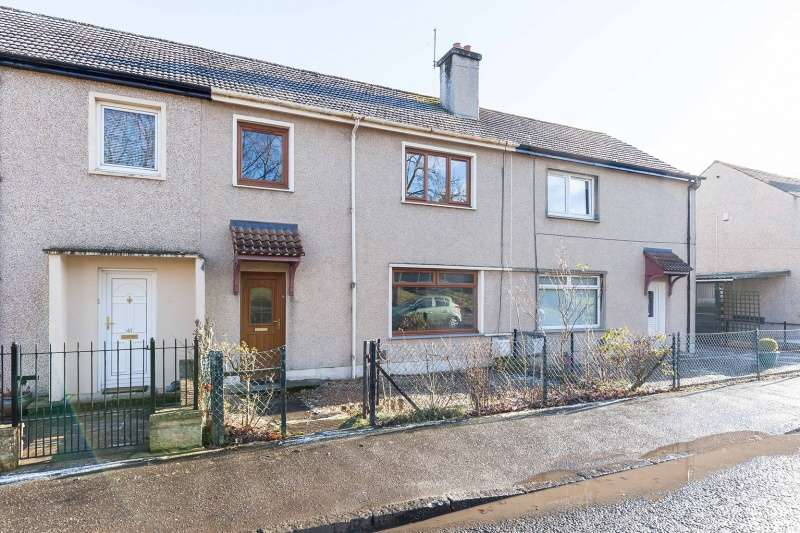3 Bedrooms Terraced House for sale in Glaskhill Terrace, Penicuik, Midlothian, EH26 0EQ
