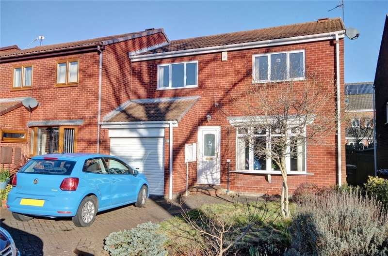 3 Bedrooms Semi Detached House for sale in The Orchard, Pity Me, Durham, DH1