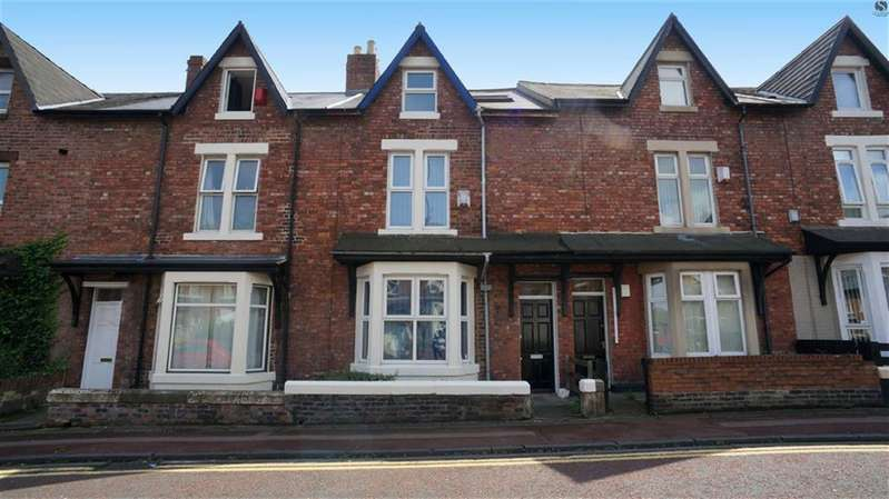 5 Bedrooms Terraced House for sale in Meldon Terrace, Heaton, Newcastle Upon Tyne