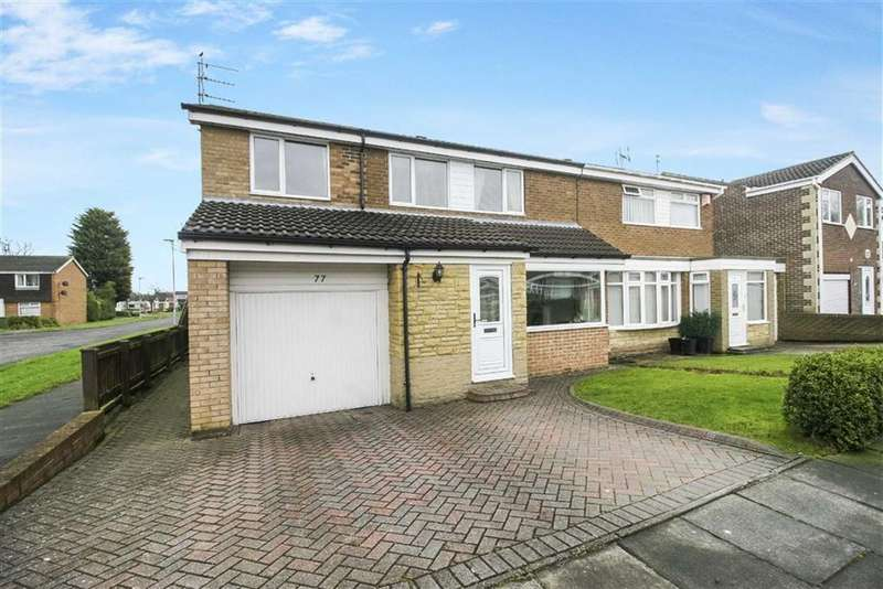 5 Bedrooms Semi Detached House for sale in Windburgh Drive, Cramlington, Northumberland