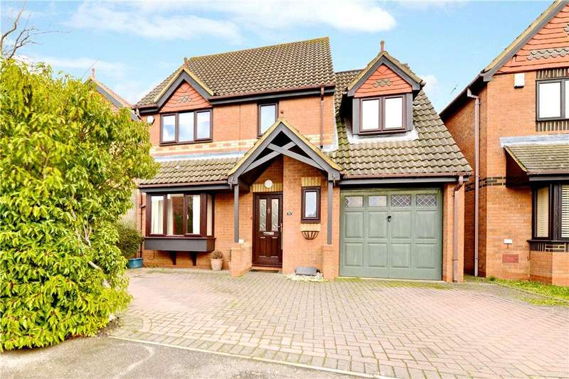 4 Bedrooms Detached House for sale in Wrens Park, Middleton, Milton Keynes, Buckinghamshire