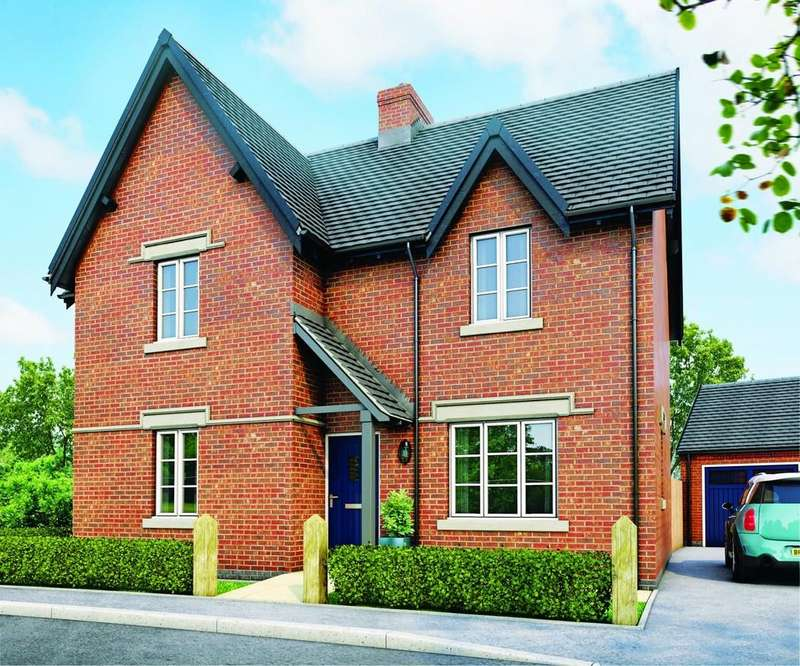 4 Bedrooms Detached House for sale in Measham Road, Moira