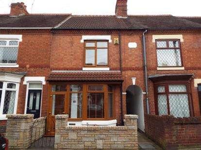 3 Bedrooms Terraced House for sale in Aston Road, Nuneaton, Warwickshire