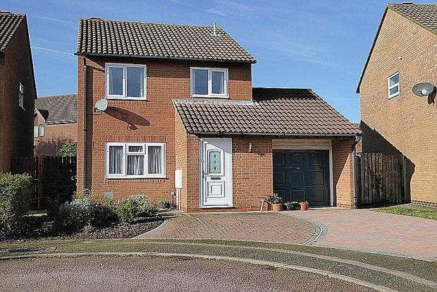 3 Bedrooms Detached House for sale in Avebury Way, East Hunsbury, Northampton, NN4