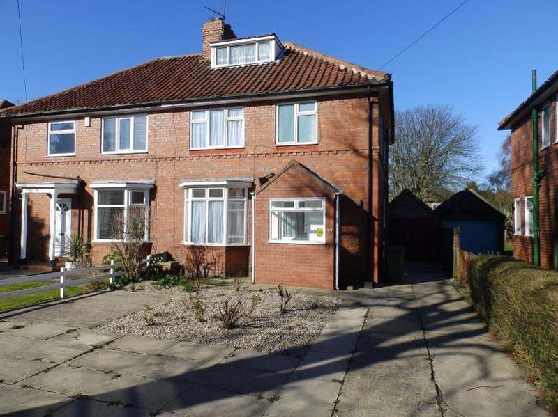 3 Bedrooms Detached House for rent in FELLBROOK AVENUE, ACOMB, YORK, NORTH YORKSHIRE, YO26 5PT