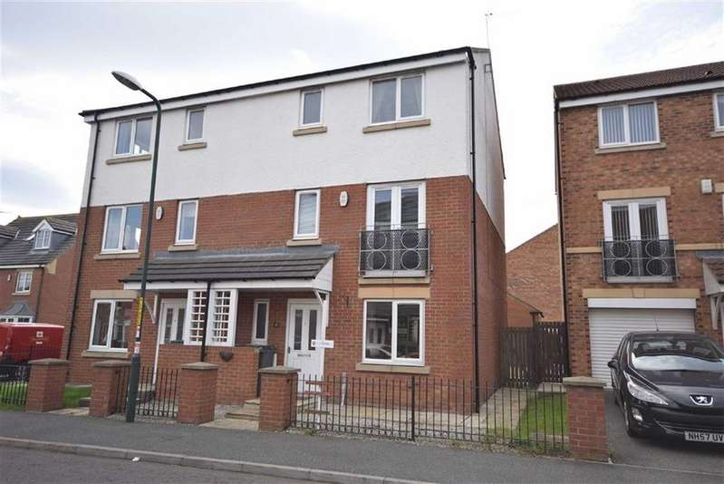 4 Bedrooms Semi Detached House for rent in Strathmore Gardens, South Shields, South Shields