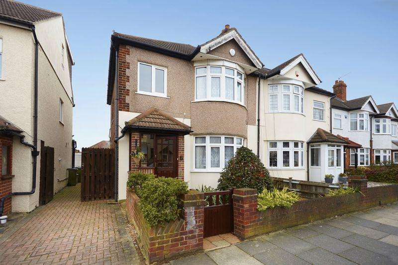 3 Bedrooms Semi Detached House for sale in Larchwood Road, New Eltham SE9