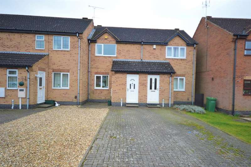 2 Bedrooms Town House for sale in Taylors Bridge Road, Wigston, LE18 4NL