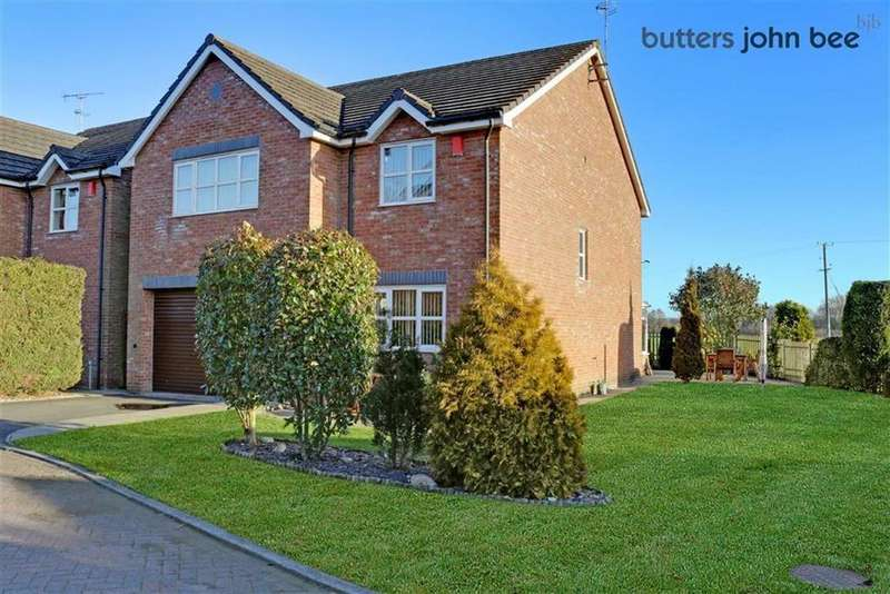 4 Bedrooms Detached House for sale in Boothstone Gardens, Yarnfield, Staffordshire