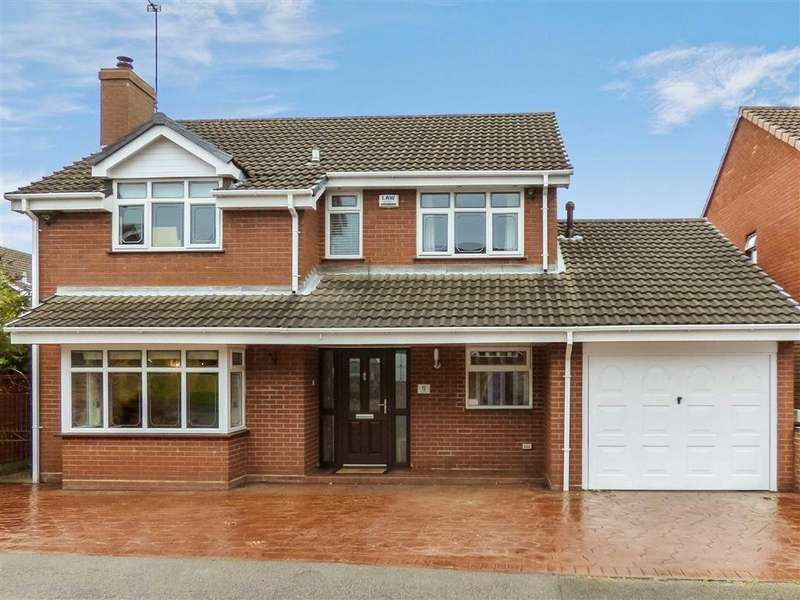 4 Bedrooms Detached House for sale in Chaplain Road, Cannock, Staffordshire