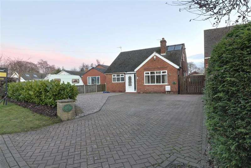 4 Bedrooms Detached Bungalow for sale in Vicarage Lane, Elworth, Sandbach