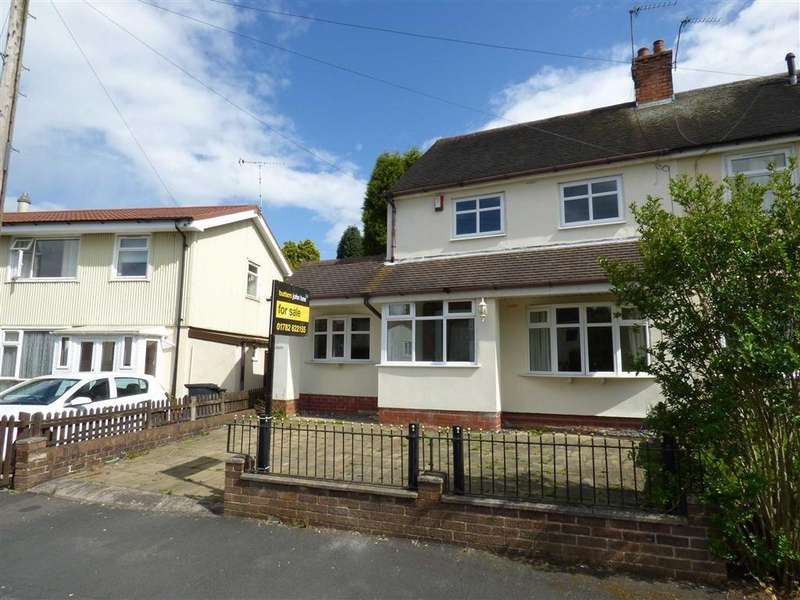 2 Bedrooms Semi Detached House for sale in Meadow Lane, Newcastle-under-Lyme