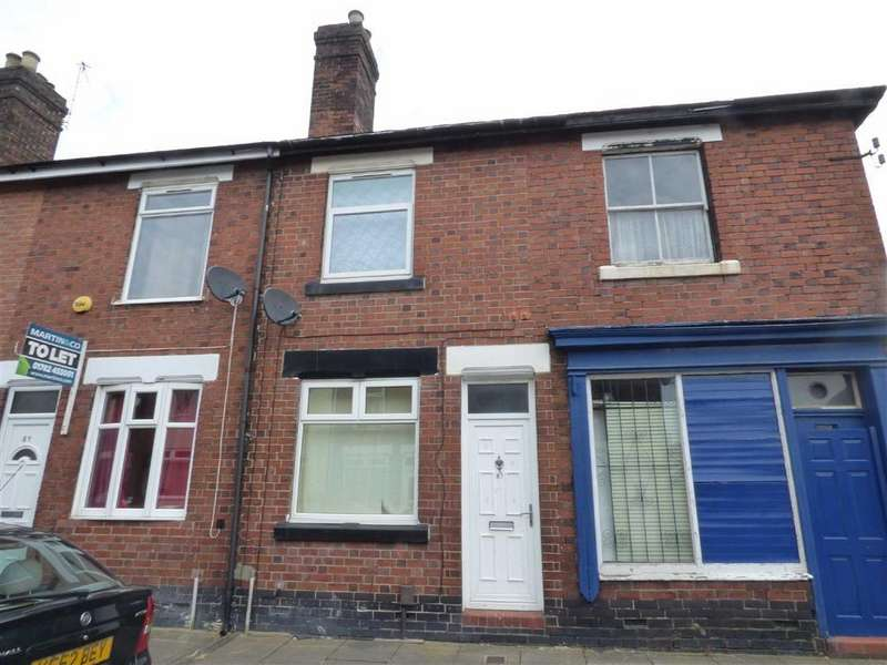 2 Bedrooms Terraced House for sale in Oldfield Street, Fenton, Stoke-on-Trent