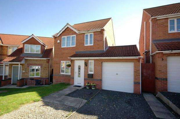3 Bedrooms Detached House for sale in CELANDINE WAY, SHILDON, BISHOP AUCKLAND