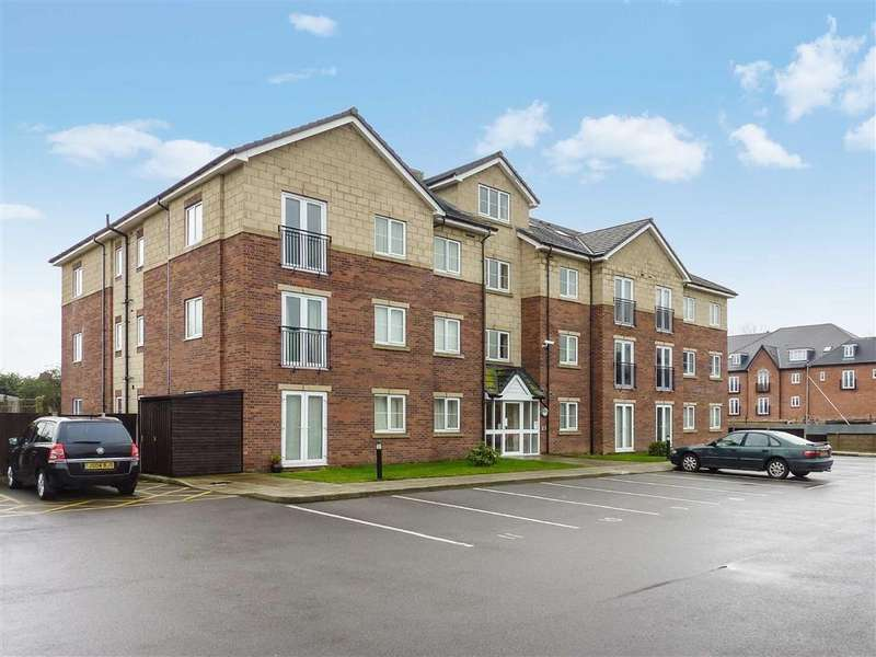 2 Bedrooms Apartment Flat for sale in Fairfax Court, Nantwich