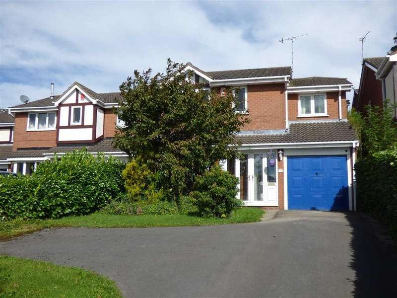 4 Bedrooms Detached House for sale in Silverstone Crescent, Stoke-on-Trent
