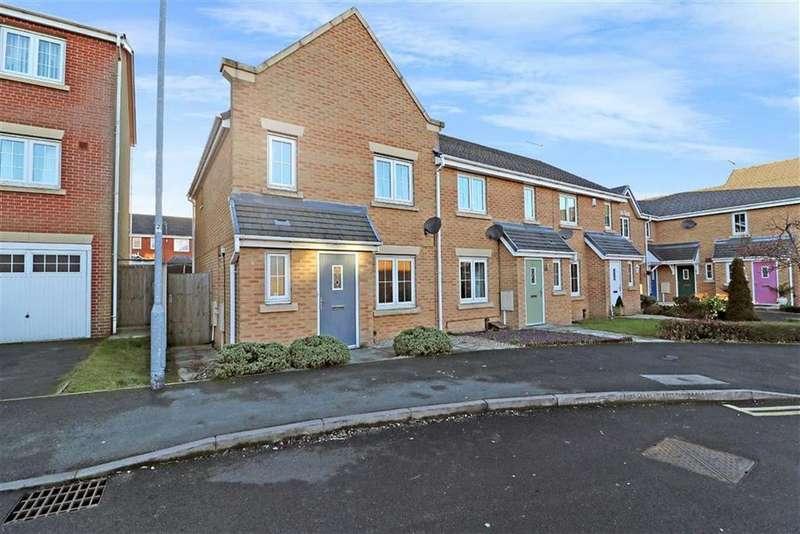 3 Bedrooms Town House for sale in Darwin Drive, Burslem, Stoke-on-Trent