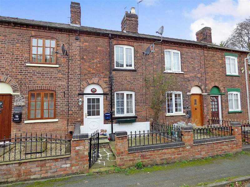2 Bedrooms Terraced House for sale in Canal Side Cottages, Old Chester Road, Nantwich
