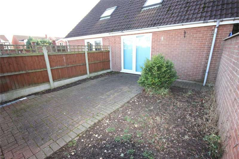 1 Bedroom Town House for sale in Arun Dale, Mansfield Woodhouse, Nottinghamshire, NG19