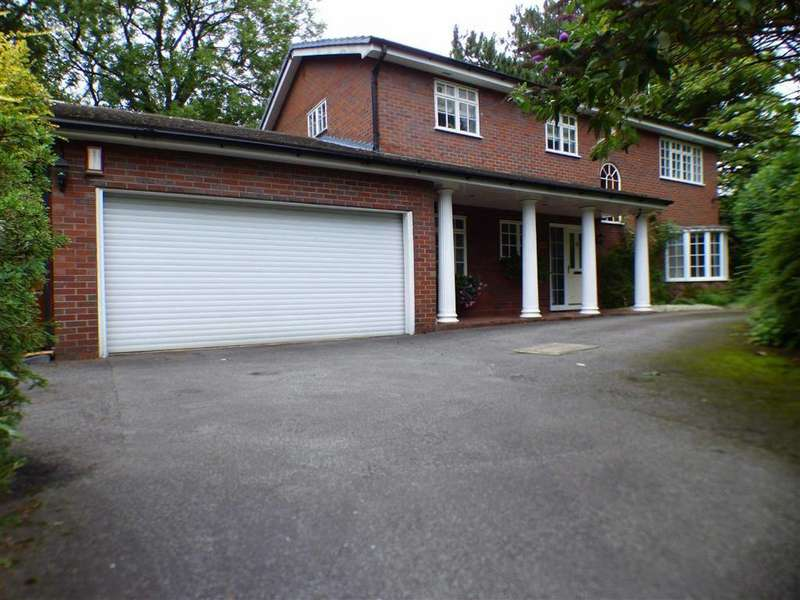 4 Bedrooms Detached House for sale in Chester Road, Middlewich