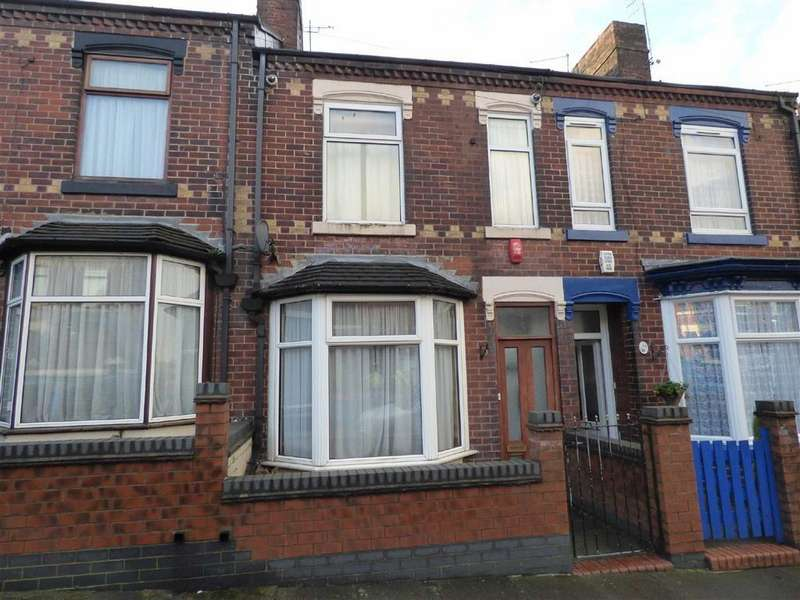 2 Bedrooms Terraced House for sale in Barthomley Road, Birches Head, Stoke-on-Trent