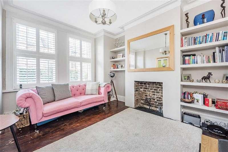 2 Bedrooms Maisonette Flat for sale in Mantilla Road, Tooting Bec