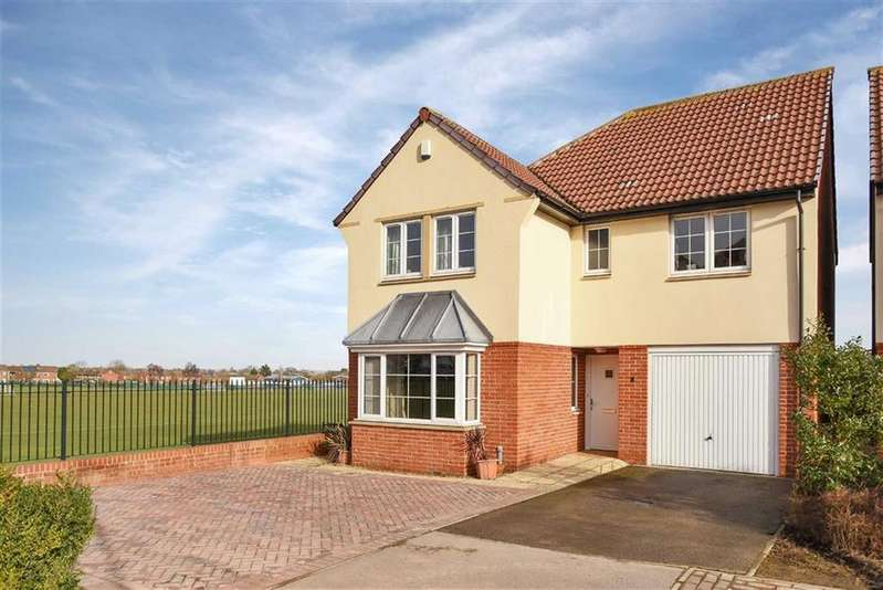 4 Bedrooms Detached House for sale in Longdales Place, Lincoln, Lincolnshire