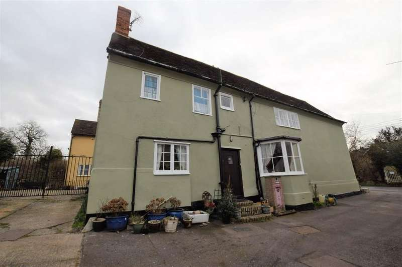 3 Bedrooms Semi Detached House for sale in The Street, Pebmarsh, Halstead CO9 2NH