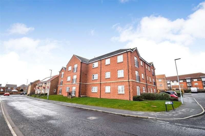 2 Bedrooms Flat for sale in Mappleton Drive, East Shore Village, Seaham, Co Durham, SR7