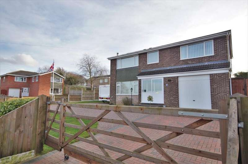 4 Bedrooms Detached House for sale in Cambridge Drive, Washingborough