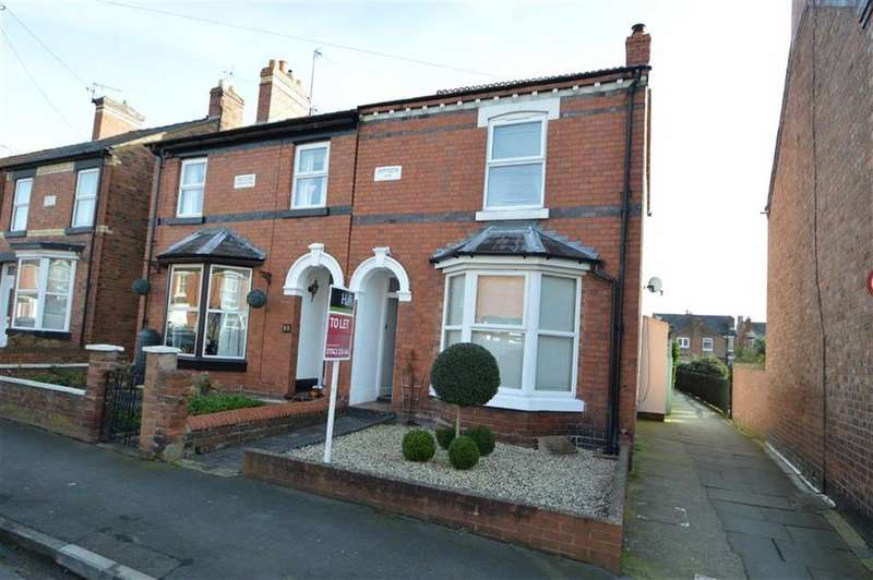 2 Bedrooms Semi Detached House for rent in Hotspur Street, Shrewsbury, SY1