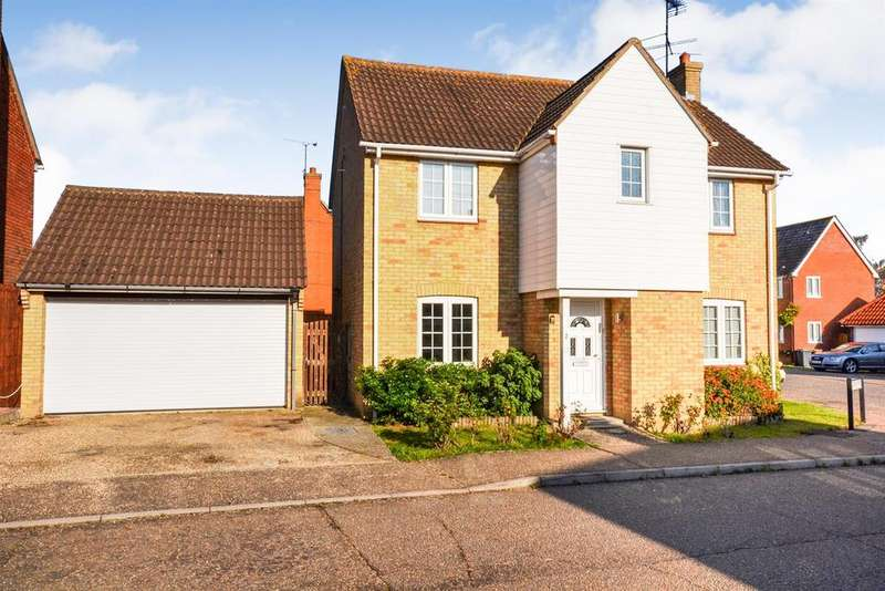 4 Bedrooms Detached House for sale in Gold Berry Mead, South Woodham Ferrers, Chelmsford