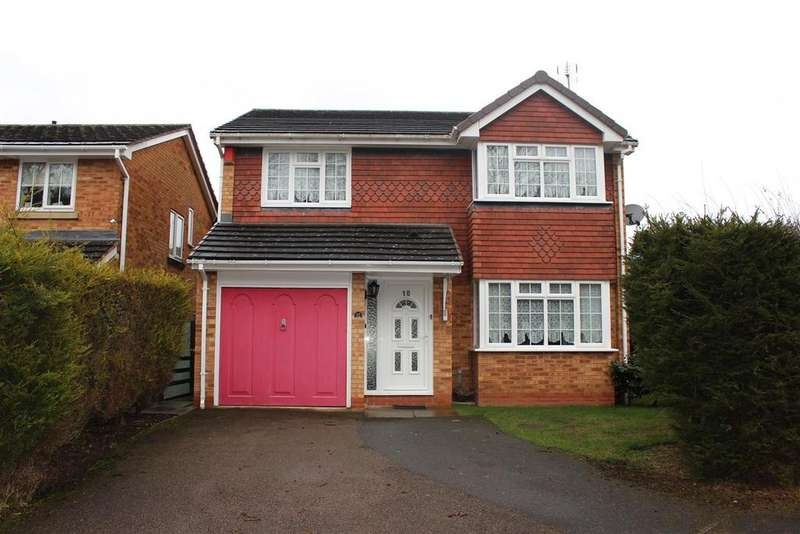 4 Bedrooms Detached House for sale in Kielder Close, Narborough, Leicester