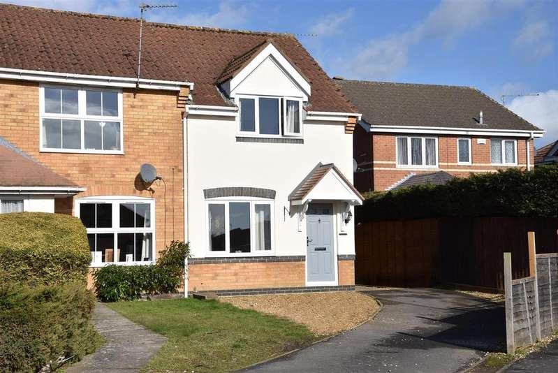 2 Bedrooms End Of Terrace House for sale in Brambleside, Kettering