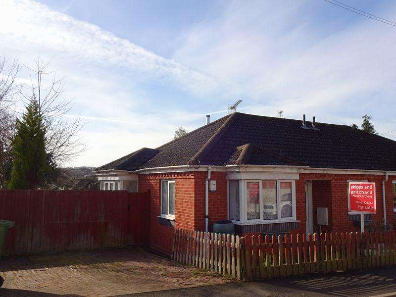 2 Bedrooms Semi Detached Bungalow for sale in Richmond Road, Bewdley DY12 2BH