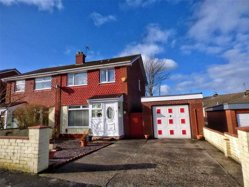 3 Bedrooms Semi Detached House for sale in Denbydale Way, Royton, Oldham, Greater Manchester, OL2