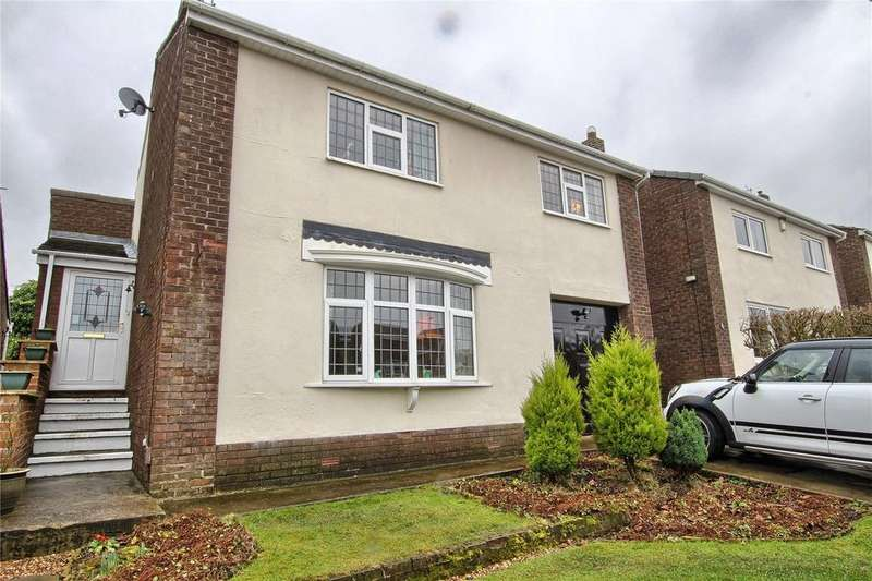 4 Bedrooms Detached House for sale in Holyrood Crescent, Hart Village