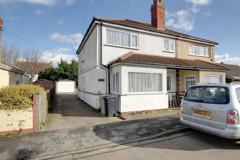 3 Bedrooms Semi Detached House for sale in Kingsley Road, Mablethorpe