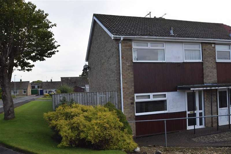 3 Bedrooms Semi Detached House for sale in Danescroft, Bridlington, East Yorkshire, YO16