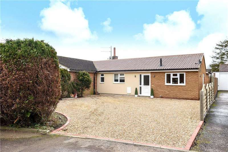 3 Bedrooms Semi Detached Bungalow for sale in Wilden Road, Renhold, Bedford, Bedfordshire
