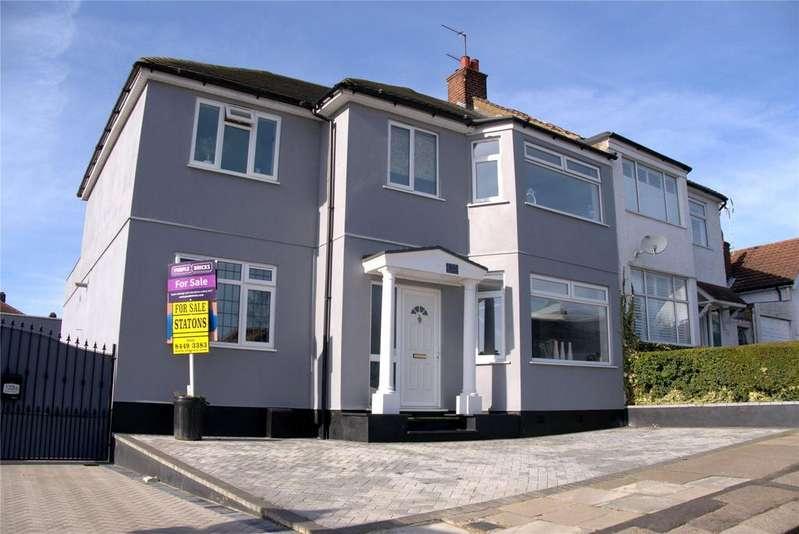 5 Bedrooms Semi Detached House for sale in Bedford Avenue, Barnet, Herts, EN5