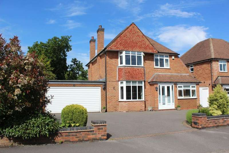3 Bedrooms Detached House for sale in Grosvenor Road, Solihull, West Midlands, B91