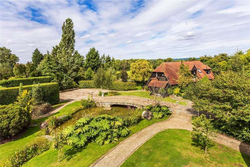 4 Bedrooms Detached House for sale in Hever Lane, Hever, Edenbridge, Kent, TN8