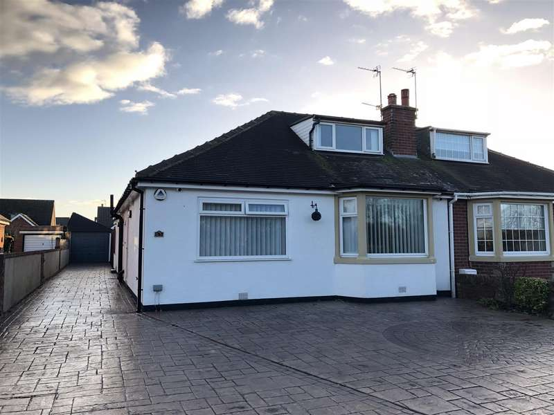 3 Bedrooms Semi Detached Bungalow for sale in Arundel Road, Fairhaven, Lytham St. Annes
