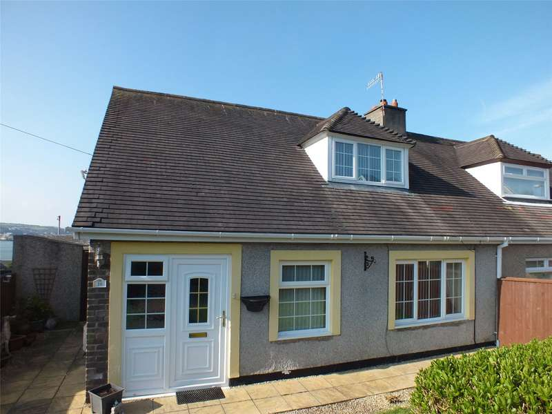 3 Bedrooms Semi Detached Bungalow for sale in Sidney Webb Close, Neyland, Milford Haven
