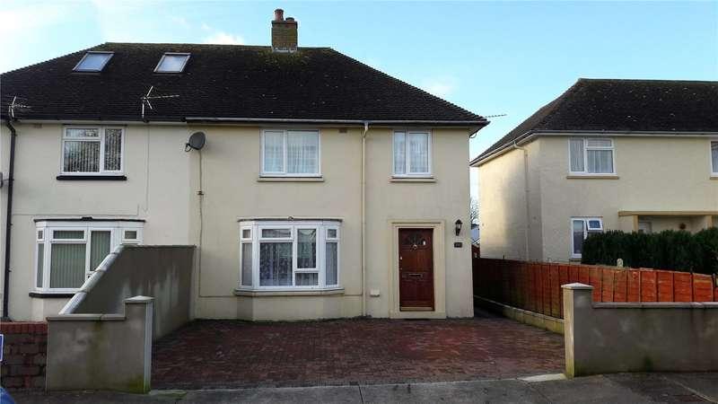 3 Bedrooms Semi Detached House for sale in Honeysuckle House, St. Johns Road, Pembroke Dock, Pembrokeshire